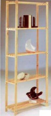 Pintar estanterias de madera
