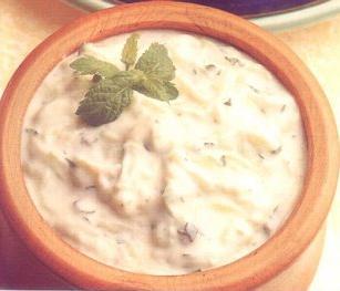 salsa yogourt