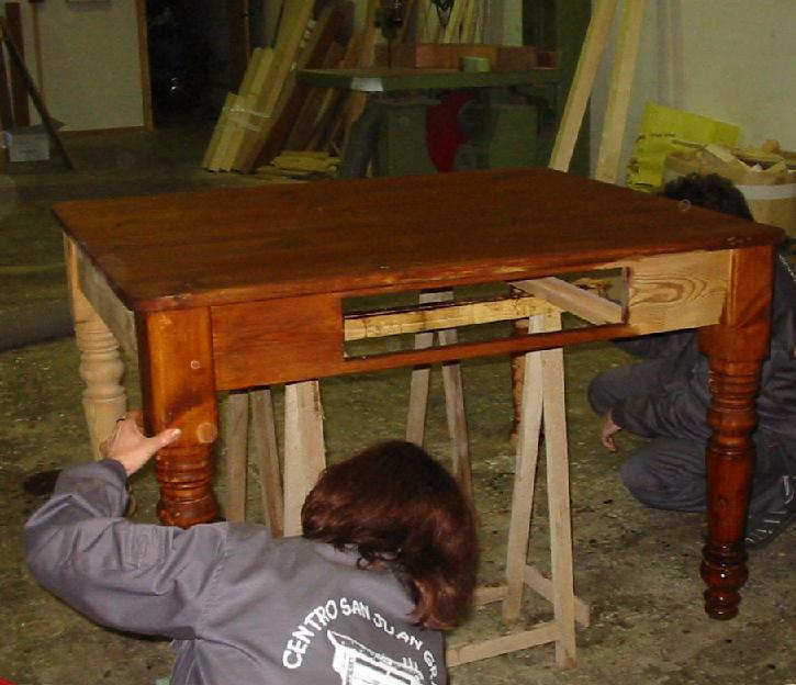 Teñir madera nueva o sin tratar